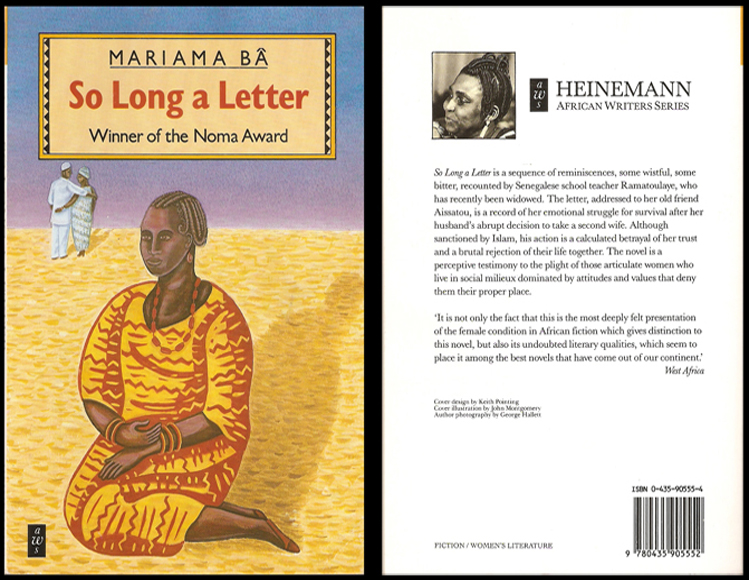 Book Review : So Long A Letter by Mariama Ba - African Rubiz