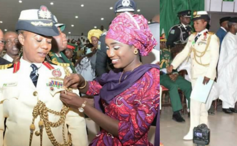 Nigeria Decorates First Female Navy General-africanrubiz